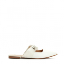 Dámské bílé pantofle Motta 9160