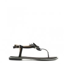 Dámské černé sandály Sweet 9208