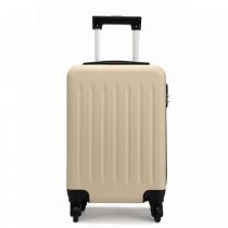 Béžový kabinový kufr Romero 1872