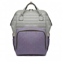 Mateřský fialový batoh Jean 6814