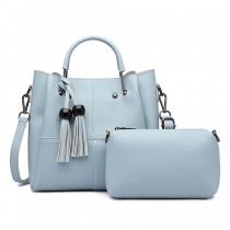 SET: Dámská modrá kabelka Candy 1844
