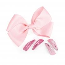 Pět růžových sponek do vlasů Sindy 31763