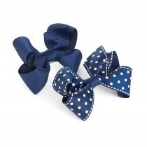 Dvě námořnicky modré sponky do vlasů Fathima 31757