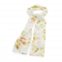 Dámský bílý šátek Belara 31819
