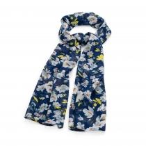 Dámský námořnicky modrý šátek Joselin 31817