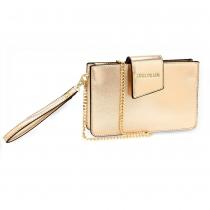 Dámská zlatá kabelka Amandaa 593