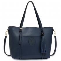 Dámská námořnicky modrá kabelka Lucille 595