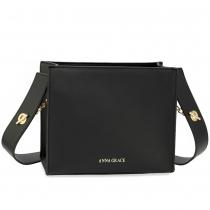 Dámská černá kabelka Siara 596