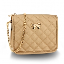 Dámská zlatá kabelka Amelie 598