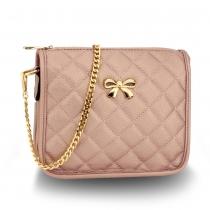 Dámská růžová kabelka Amelie 598