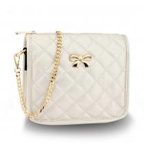 Dámská bílá kabelka Amelie 598