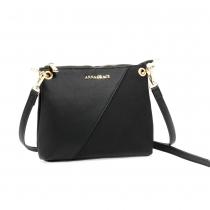 Dámská černá kabelka Leslie 616