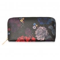 Dámská černá peněženka Molly 1108