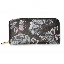 Dámská černobílá peněženka Molly 1108