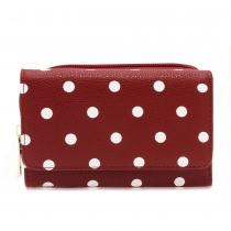 Dámská červená peněženka Gloria 1045B