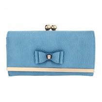 Dámská modrá peněženka Suellen 1077