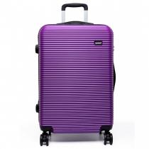 Dámský malý fialový kufr na kolečkách Travel 6676