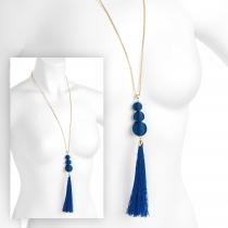 Náhrdelník v námořnicky modré barvě Maia 31617