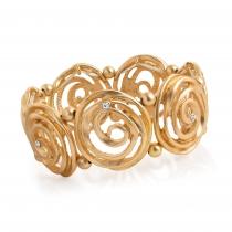 Náramek ve zlaté barvě Goldie 30939