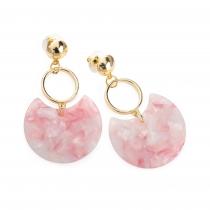 Náušnice v růžové barvě Jenna 31938