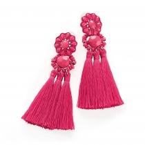 Náušnice v růžové barvě Milky 31977