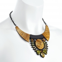 Barevný náhrdelník Carie 31978
