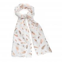 Dámský bílý šátek Talison 31529
