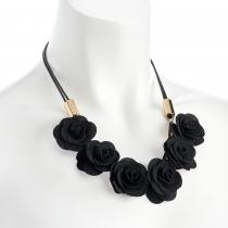 Náhrdelník v černé barvě Shala 31900