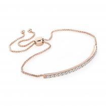 Náramek v růžovo zlaté barvě Daphne 31916