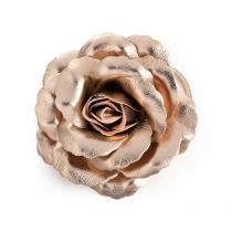 Růžovo zlatá gumička do vlasů Angie 31545
