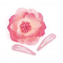 Tři růžové sponky do vlasů Thandie 31870