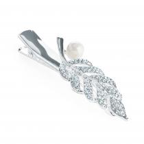 Stříbrná sponka do vlasů Claudia 32110