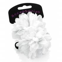 Dvě bílé gumičky do vlasů Renesmé 28534