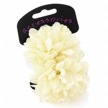 Dvě krémové gumičky do vlasů Renesmé 28538