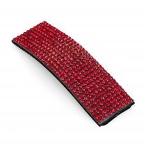 Červená sponka do vlasů Audie 31533