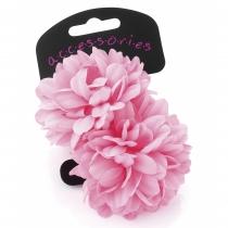Dvě růžové gumičky do vlasů Renesmé 28539