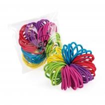 Padesát barevných gumiček do vlasů Page 31887