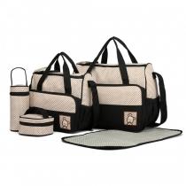 SET: Mateřská černá taška 5 v 1 Anabell 9026