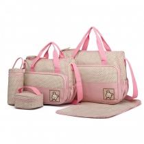 SET: Mateřská růžová taška 5 v 1 Anabell 9026