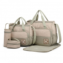 SET: Mateřská šedá taška 5 v 1 Anabell 9026