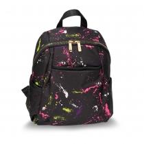 Dámský černý batoh Susana 614A