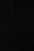 TAPE IN vlasy 20 pásků - 40 cm přírodní černá