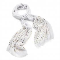 Dámský šátek Fashion 29031 bílý
