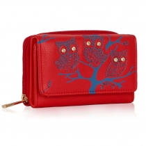 Dámská peněženka Owl 1045 červená