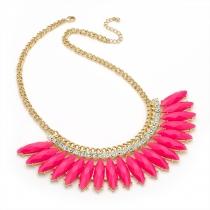 Dámský růžový náhrdelník Kikha 29214