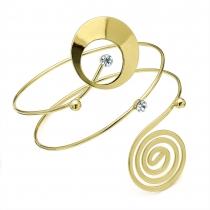 Náramek ve zlaté barvě Tribal 29161