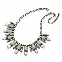 Šedý náhrdelník Jane 29189