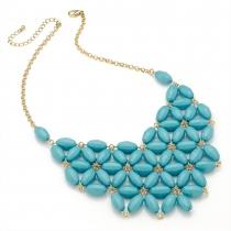 Modrý náhrdelník Bright 29274
