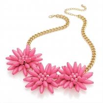 Růžový náhrdelník Hilary 29308