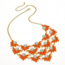 Oranžový náhrdelník Gaya 29241